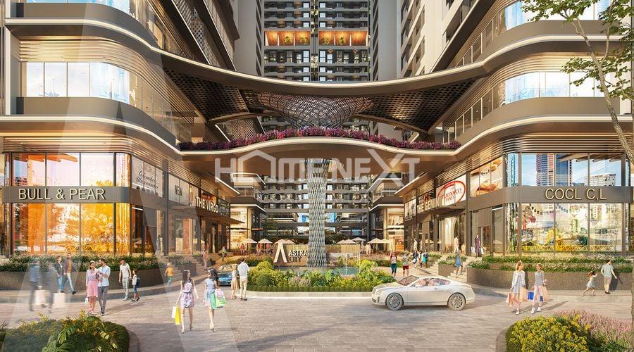 Trung tâm mua sắm thả ga tại chung cư Astral City