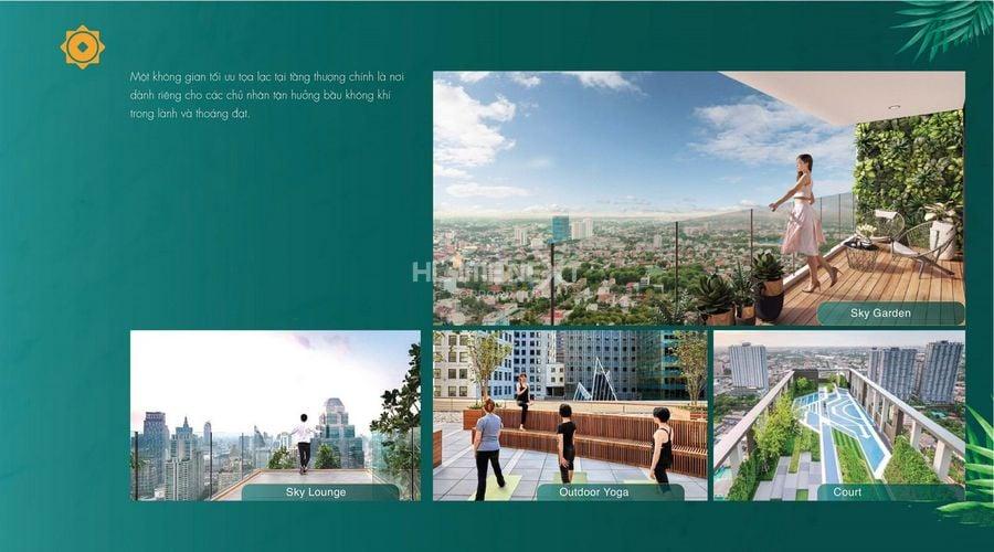 Tiện ích Sky Garden tại dự án Phú Đông Sky Garden Dĩ An