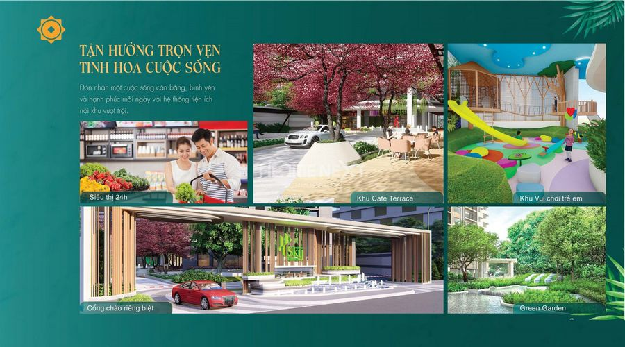 Tiện ích Earth Garden tại Phú Đông Sky Garden Dĩ An