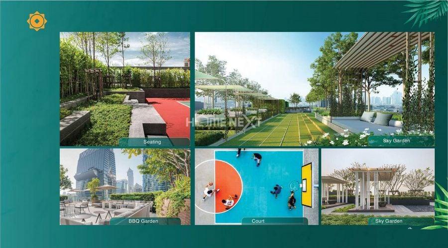 Tiện ích Sky Garden tại chung cư Phú Đông Sky Garden Dĩ An