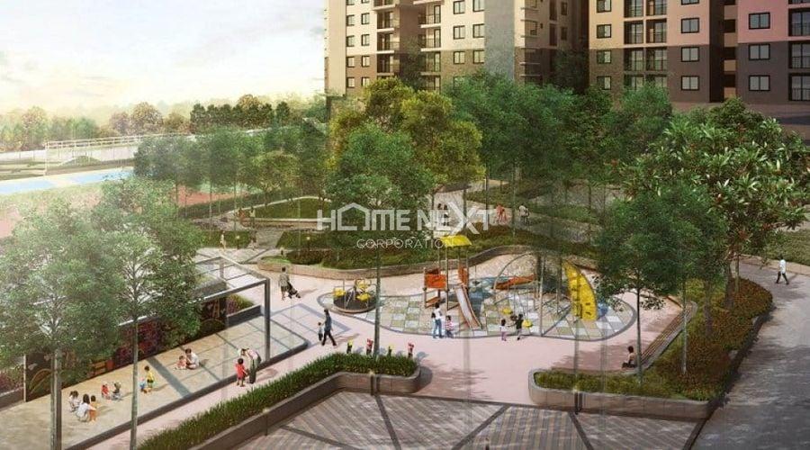 Công viên cây xanh tại dự án 9x Next Gen