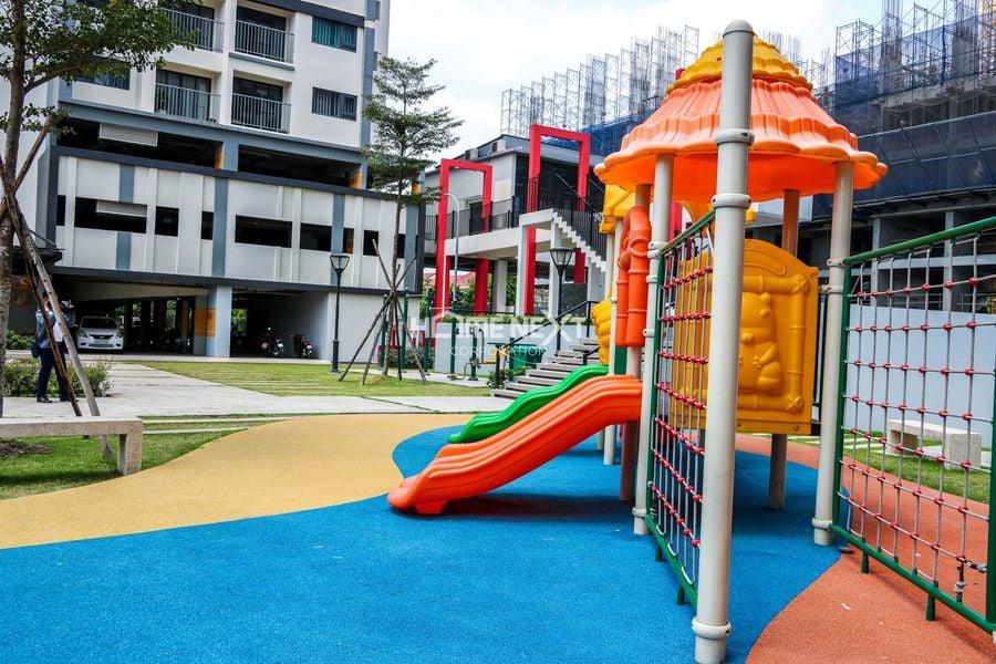 Khu vui chơi cho trẻ em tại Eco Xuân