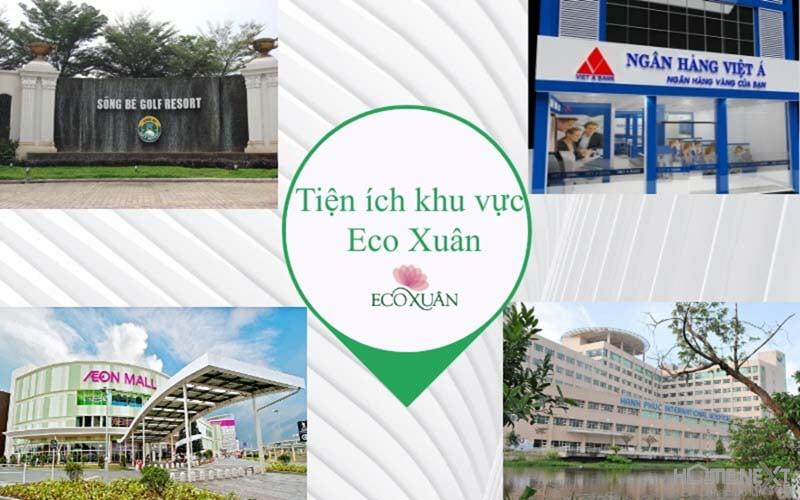 tiện tích ngoại khu EcoXuan Bình Dương