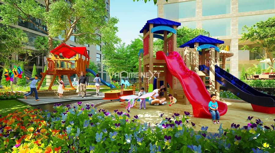 tiện ích nội khu dự án Bcons Garden