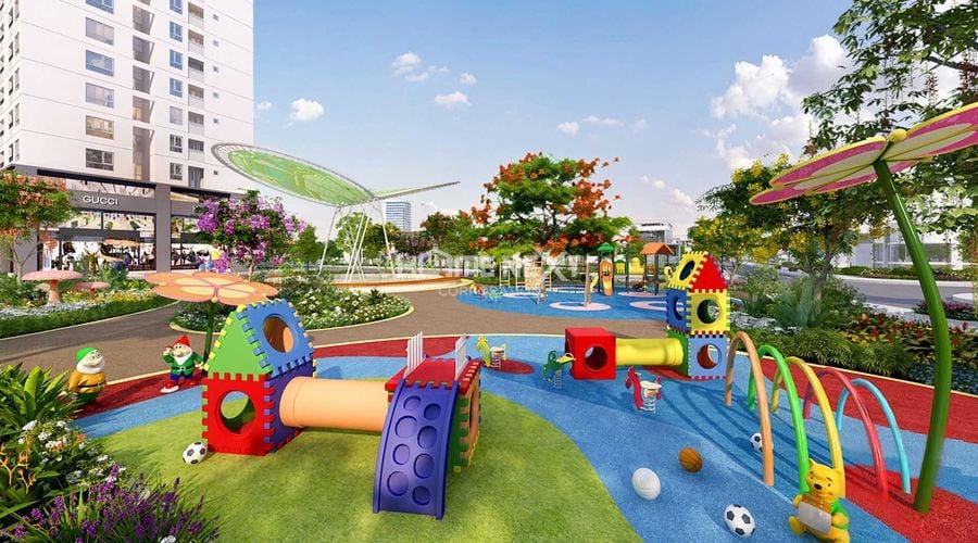 Khu vui chơi dành cho trẻ em với nhiều trò hấp dẫn