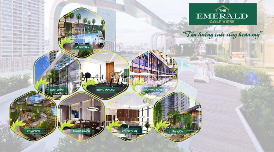 căn hộ The Emerald Golf View Bình Dương
