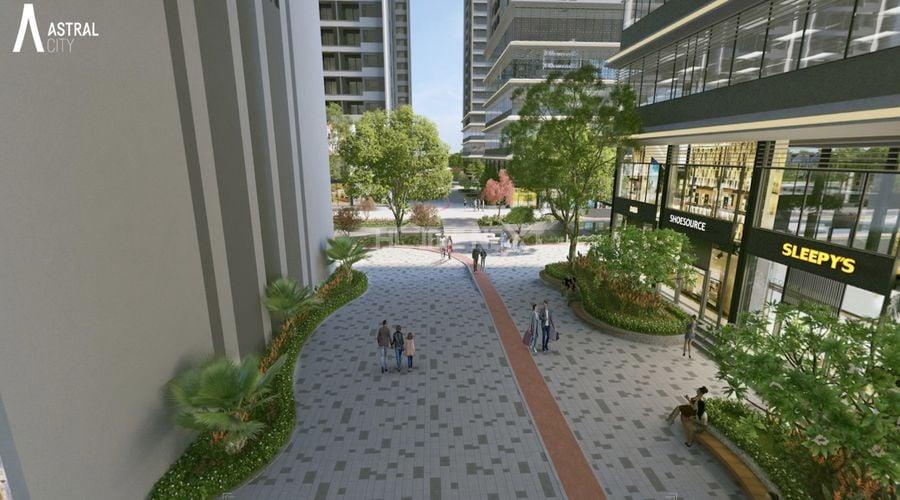 tiện ích dự án khu phức hợp và căn hộ cao cấp Astral City