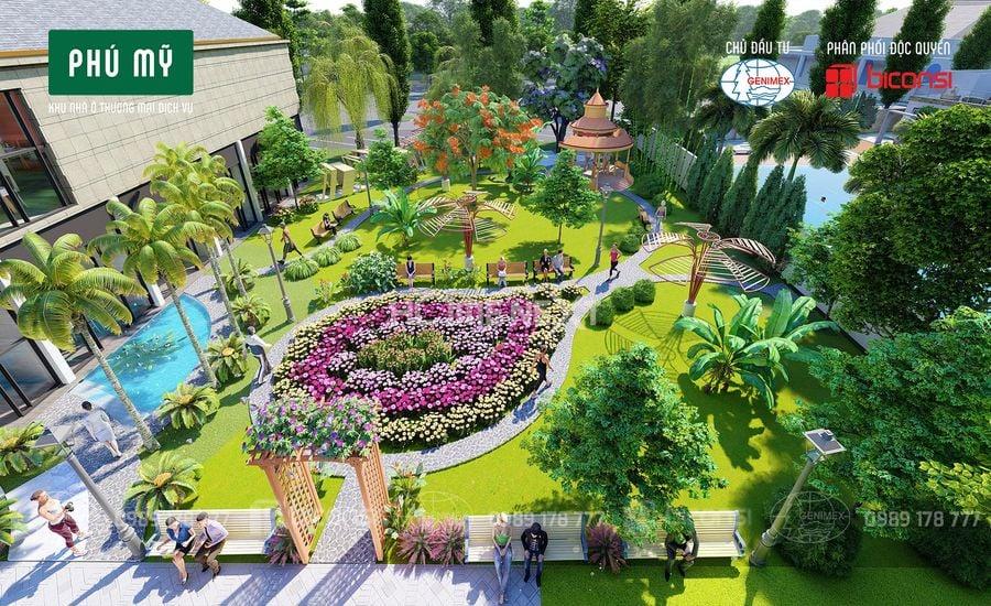 Công viên thư giãn mỗi ngày, tăng cường sức khỏe