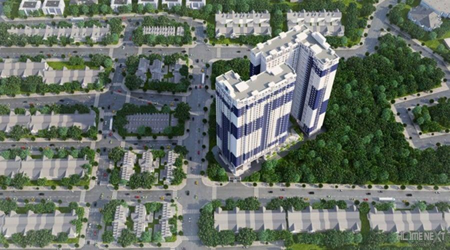 Phối cảnh dự án căn hộ CSkyView tại Bình Dương