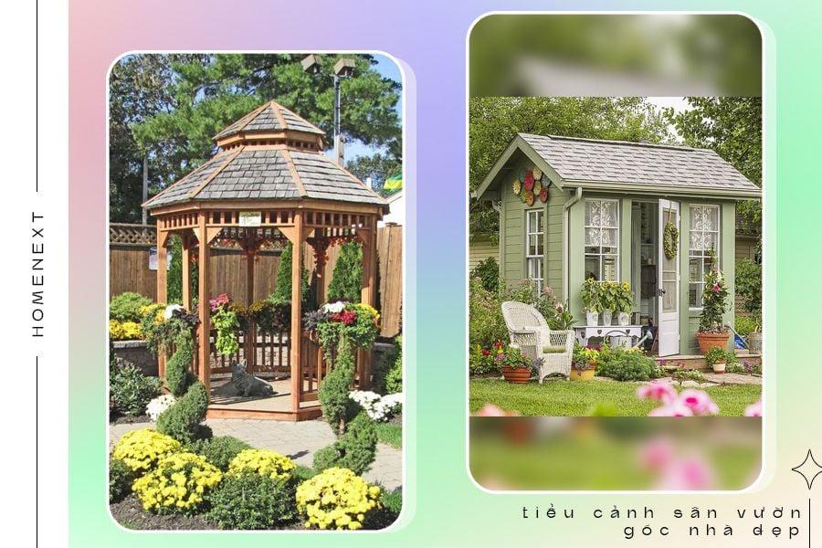 Thiết kế không gian sân vườn ngoài trời