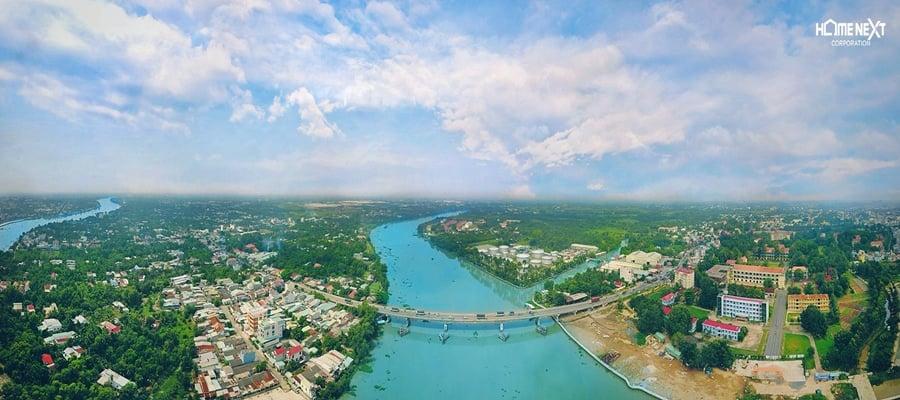 sông Sài Gòn chảy qua Bình Dương