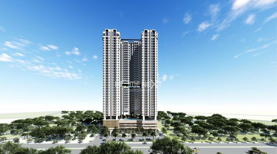 The Emerald Golf View là dự án căn hộ chung cư mới nhất của Chủ đầu tư Lê Phong tại thị trường Thuận An, Bình Dương. Chung cư The Emerald Golf View sở hữu vị trí đắc địa bậc nhất tại mặt tiền đường Quốc Lộ 13 với mức giá chỉ từ 1,8 tỷ/căn.