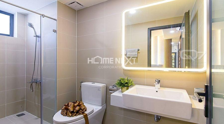 Căn hộ mẫu của chung cư 9X Ciao Bình Dương - phòng tắm