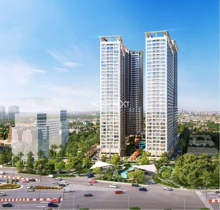 Phối cảnh dự án chung cư Lavita Thuận An