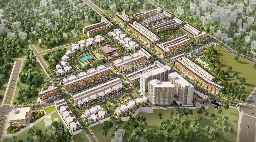 tổng thể dự án Takara Residence Bình Dương