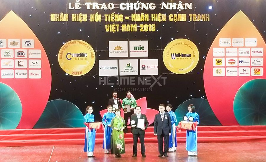 Top 10 Nhãn hiệu cạnh tranh Việt Nam 2018