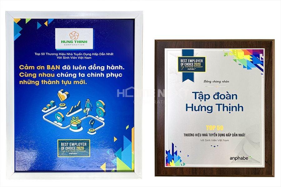 Top 50 thương hiệu Nhà tuyển dụng được yêu thích nhất với sinh viên Việt Nam 2020
