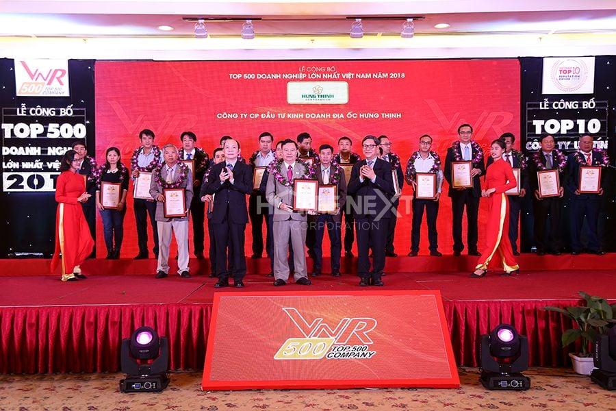 Top 500 doanh nghiệp lớn nhất Việt Nam 2018