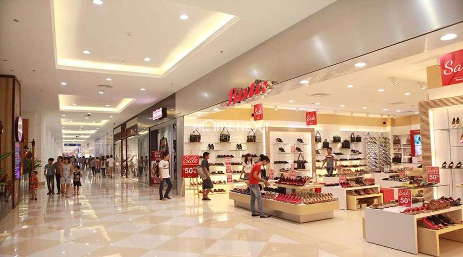 trung tâm mua sắm tại dự án hồ gươm xanh