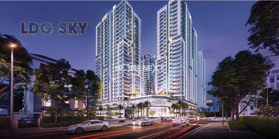 Phối cảnh tòa nhà dự án LDG Sky