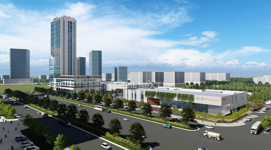 Tòa nhà Becamex Tower tại thành phố Bình Dương trong tương lai