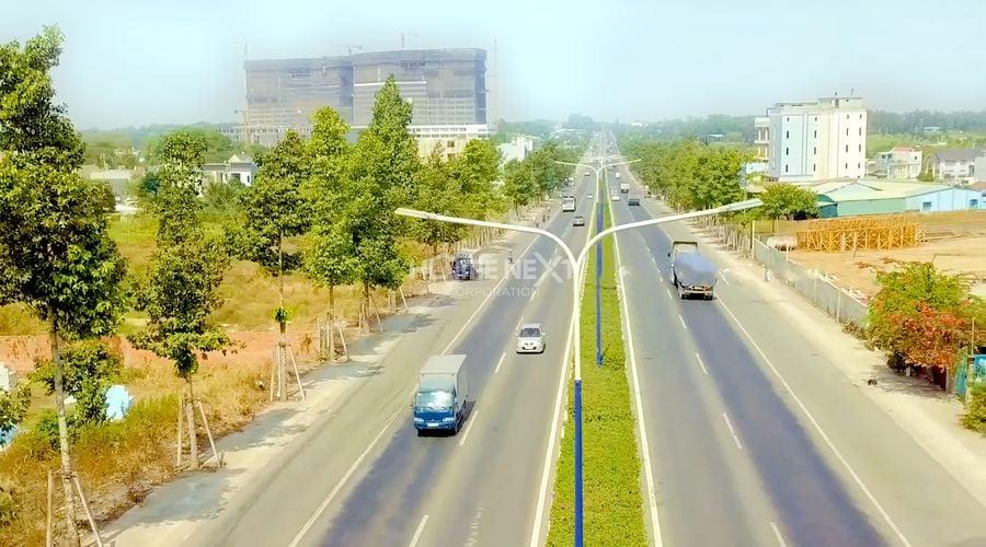 Hình ảnh thực tế công trình đường cao tốc Mỹ Phước Tân Vạn