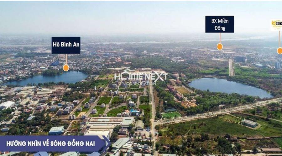 vi-tri-2-1View nhìn về sông Đồng Nai của dự án Bcons Plaza