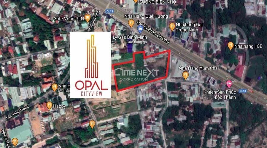 Vị trí dự án căn hộ cao cấp Opal City View