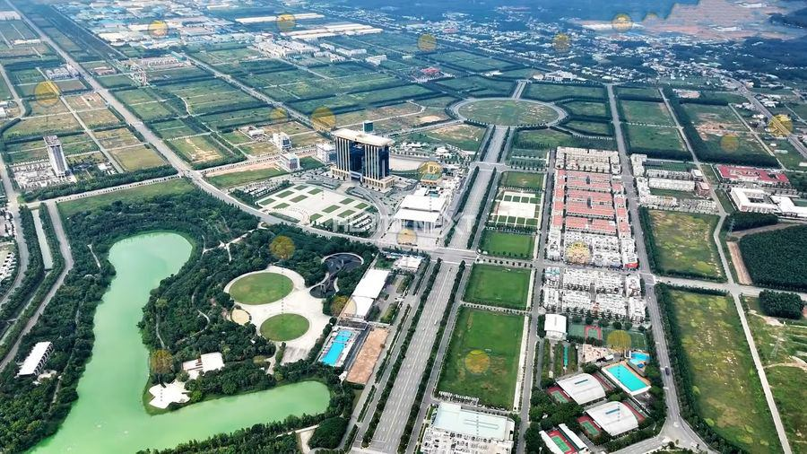 Công viên xanh thành phố mới Bình Dương góc nhìn trên cao