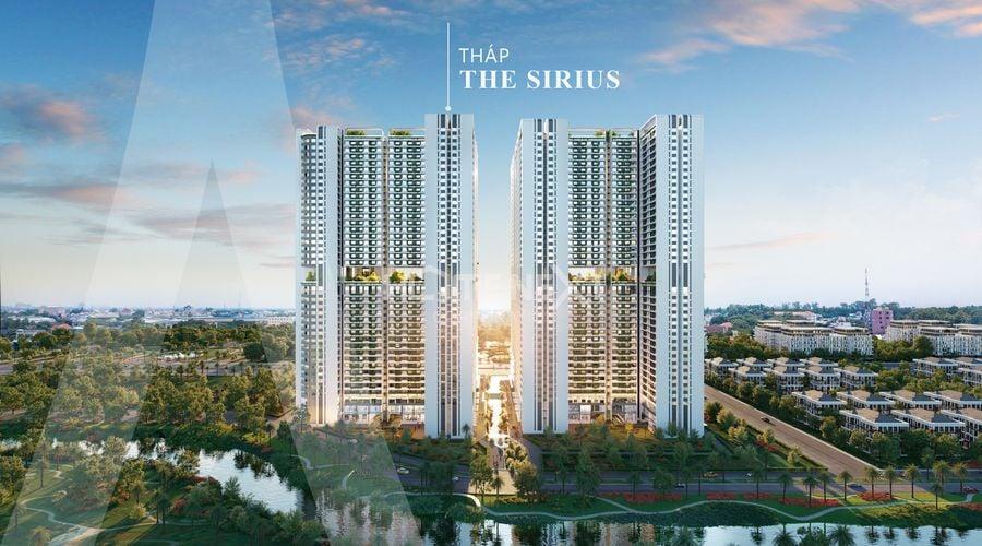 Vị trí tháp Sirius của chung cư Astral City Thuận An