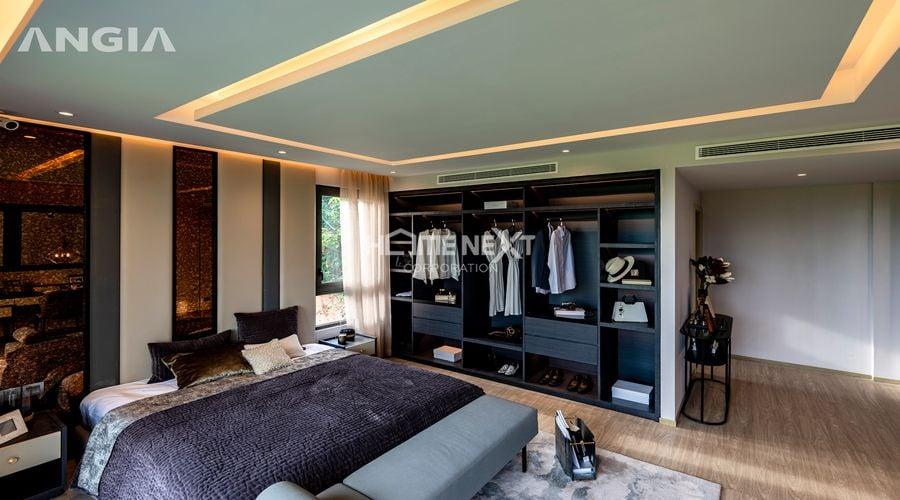Phòng ngủ rộng thoáng mang phong cách hiện đại