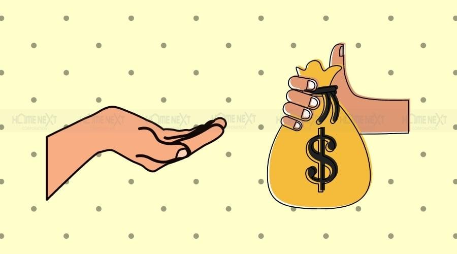 Vốn ban đầu càng nhiều thì tiền đi vay càng ít