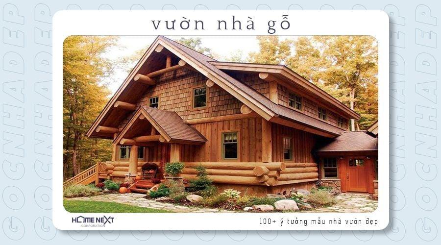 Rất chắc chắn và hòa mình với tự nhiên, chỉ có tại căn nhà vườn gỗ này