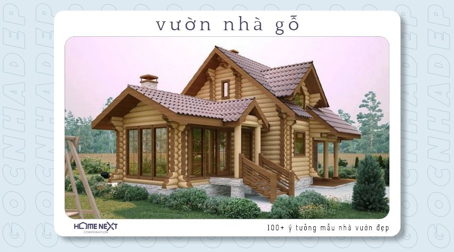 sở hữu cho mình căn nhà gỗ độc đáo