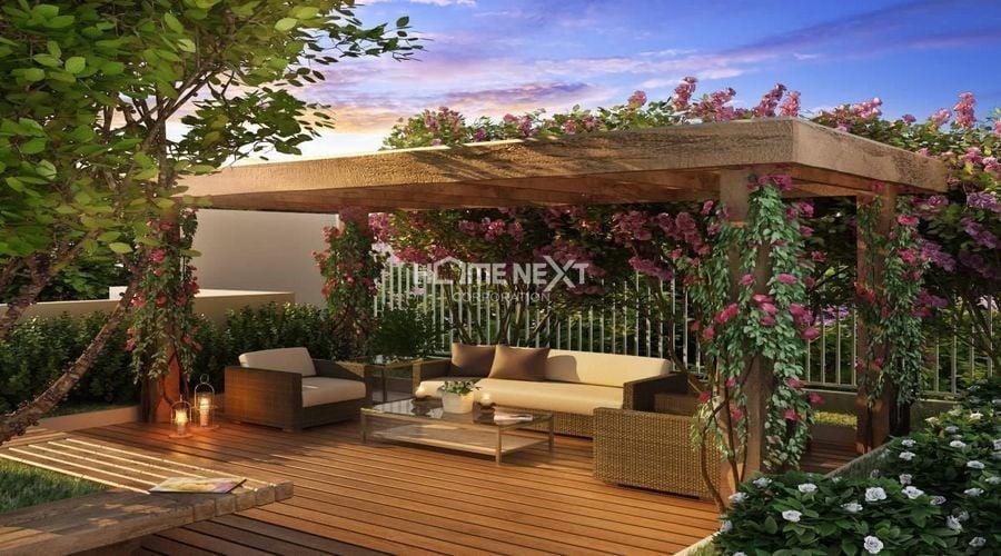 Vườn nhiệt đới trên sân thượng